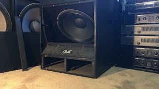 AVE Bigboy Subwoofer - Repair and Test!