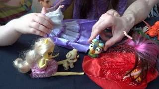 Мультик для детей играем с детьми Скипер Анна и Эпл-Джек выбирают питомцев