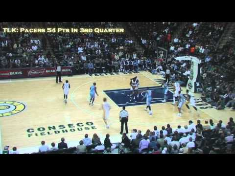Indiana Pacers 54 Point In 3rd Quarter 20/21 FG