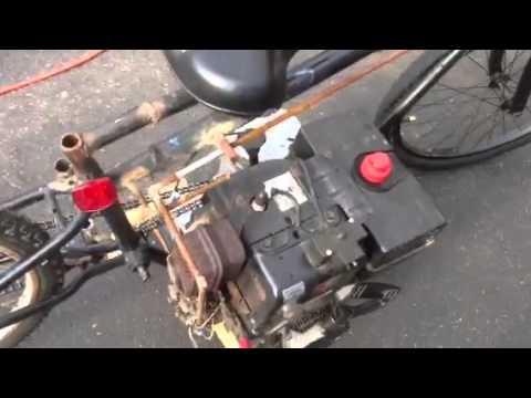 how to make a homemade mini bike