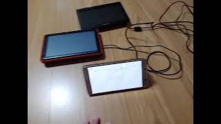 파인드라이브 Q10 과 iq500 부팅 테스트