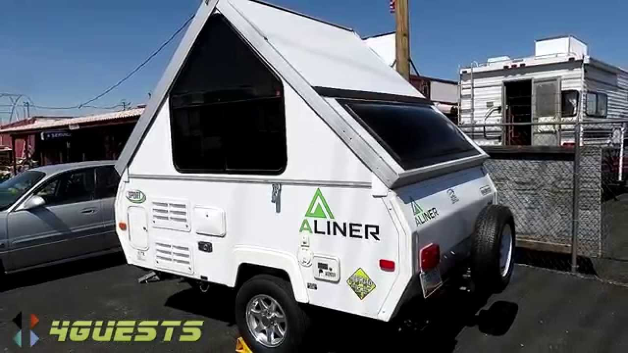 aliner camper sport model for sale youtube