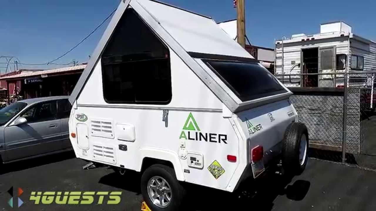 aliner camper sport model for sale youtube