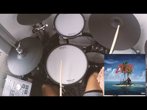 Kodak Black - ZEZE Feat  Travis Scott & Offset - Drum Cover