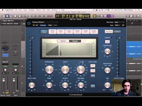 Logic Pro X Tutorial - Vocal Production