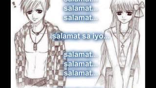 Repeat youtube video Salamat sa pananakit mo lyrics by alinor