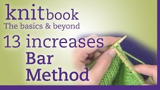 Knitbook: Bar Method