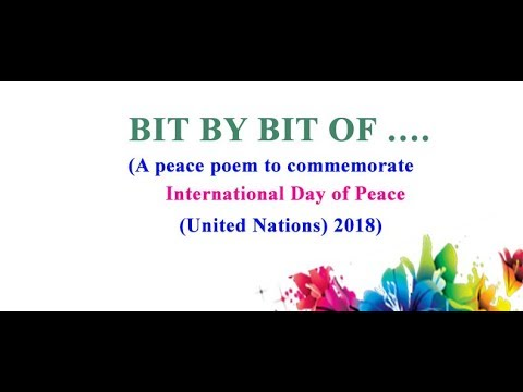 International Day of Peace United Nations 2018