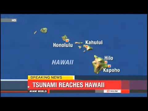 Tsunami Reaches Hawaii 2