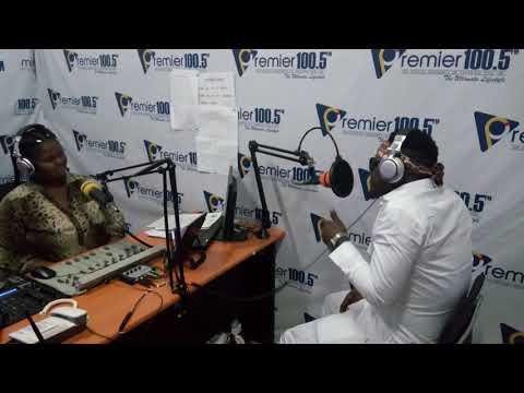 Biggy Stone on TTU compus radio Premier lounge with Missy