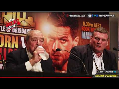 "BOXING'S CINDERELLA MAN JEFF ""THE HORNET"" HORN vs GARY ""HELLRAISER"" CORCORAN POST FIGHT PRESSER"