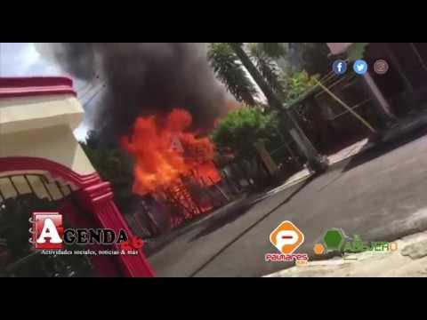 Incendio reduce a cenizas una vivienda en Sabana Grande de Hostos