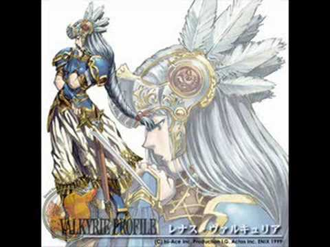 Valkyrie Profile - Fighting the Shadowy Gods