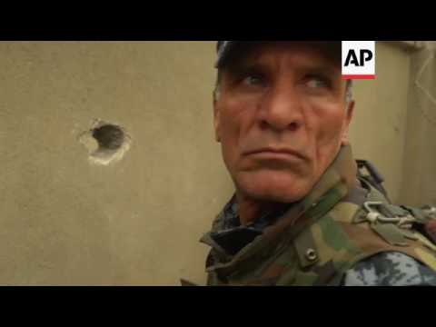 Iraqi police battle IS forces in western Mosul