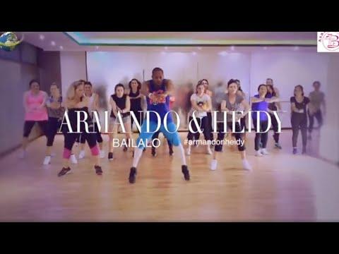 Armando y Heidy - Bailalo [ZUMBA] Coreografia Ufficiale