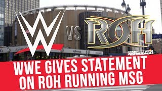 WWE Releases Statement On ROH/New Japan MSG Show