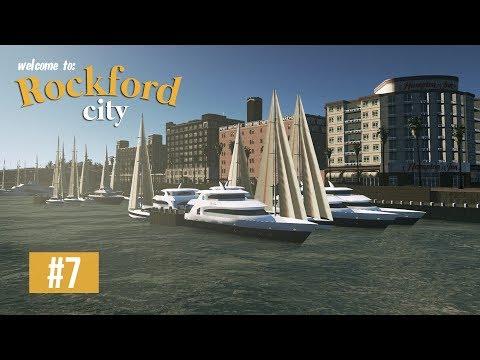 Cities Skylines: Rockford City - EP7 - The Marina!