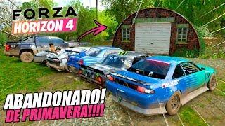 COMO GANHAR O FORZATHON SEM FAZER NADA KK - ABANDONADO DE PRIMAVERA!! - FORZA HORIZON 4