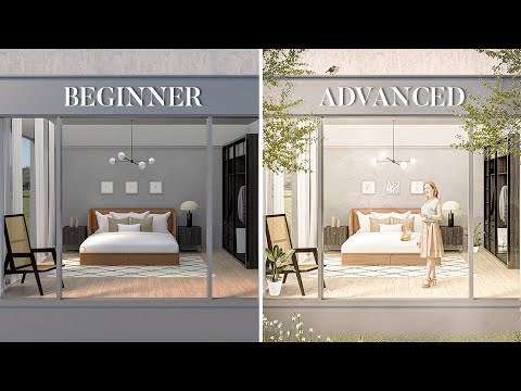 6 Levels of Architecture Post Production in Photoshop