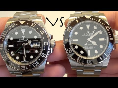 Rolex Submariner VS Rolex GMT Master II