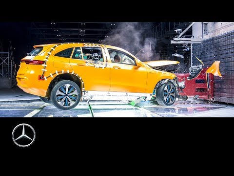 Mercedes-Benz EQC Crash Test: Destroy to Create
