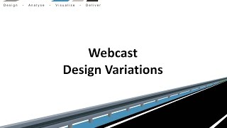 Civil Site Design - Webcast - Design Variations