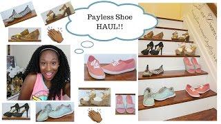 Should you Payless? :: SHOE HAUL!