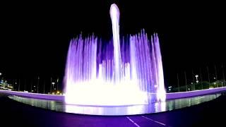 Поющие фонтаны в Олимпийском парке. Сочи. 02.05.2018