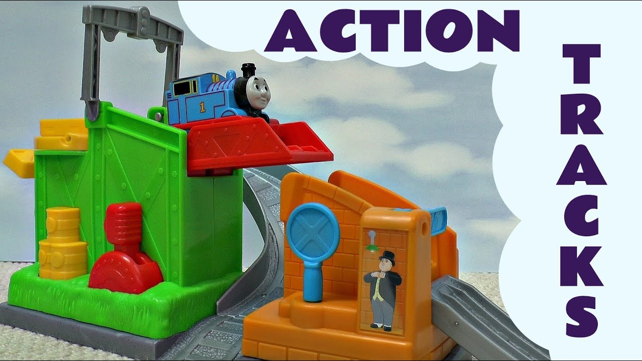 Action Tracks Thomas And Friends Set Kids Toy Funny