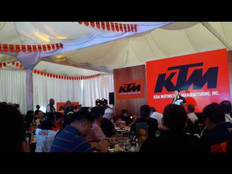 NEW KTM MOTORCYCLE PLANT INAUGURATES HERE IN THE PHILIPPINES