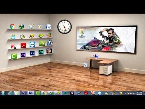 Classic 3d Desktop Workplace Wallpaper Install Desktopx 3 5 Full Keygen Pack Of Theme Doovi