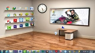 How To Make Classic 3D Desktop In Windows 7/8/10 [Hindi - हिन्दी ]