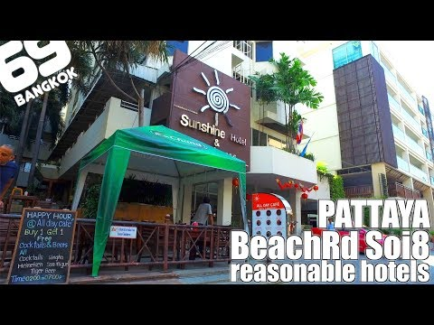 PATTAYA / Beach Road soi8 / reasonable hotels