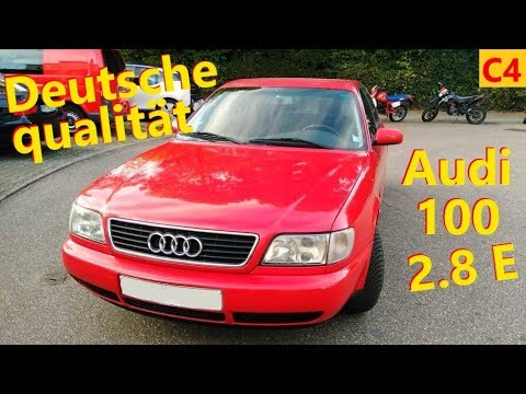 25 лет в одних руках - Audi 100 2.8 C4