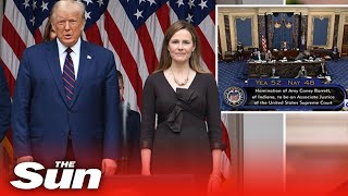 Live replay:  Amy Coney Barrett CONFIRMED as Supreme Court justice