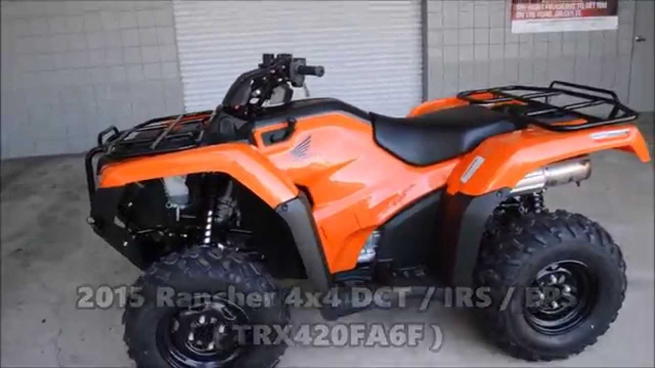 2015 Honda Rancher 420 / IRS ATV Models For Sale - Independent Rear ...