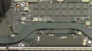 Ремонт MacBook Pro Retina замена батареи (аккумулятора)
