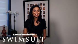 Nicolle Lobo Plays A Fun Game  | Sports Illustrated  Swimsuit 2016