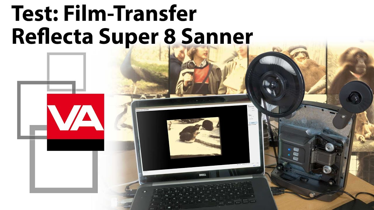 super 8 digitalisierung reflecta super 8 scanner im te doovi. Black Bedroom Furniture Sets. Home Design Ideas