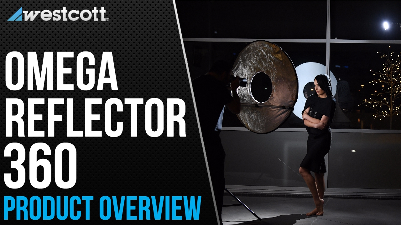 westcott s new omega reflector is a round omega reflector
