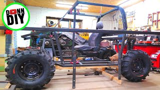 4x4 Off-Road UTV Project Ep.8 - Roof, Seat, Front End