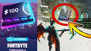 *THE SECRET FORTBYTE* 😱 #91 *LOCATION* IS IN THE HIDDEN LOCATION - FORTNITE