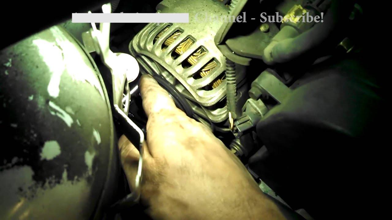 medium resolution of alternator replacement ford focus se 2002 2 0l zetec engine install remove replace alt