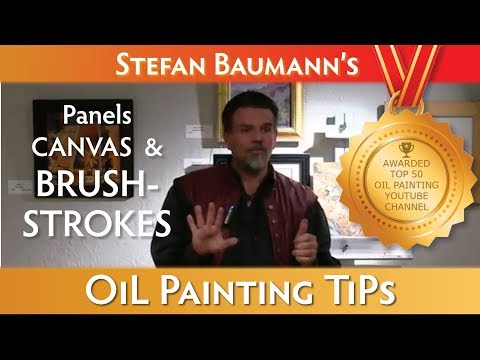 The Best Information on Artist Painting Panels, Canvas, Brushstrokes and Center Focal Point