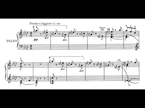 Isidor Philipp - The Elf Op. 23 (audio + sheet music)