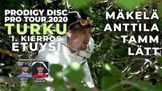 Prodigy Disc Pro Tour 2020 TURKU - MPO Feature Card 1. kierros etuysi