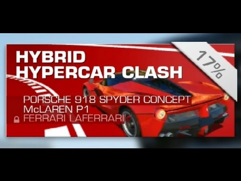 Real Racing Hybrid Hypercar Clash Video Youtube