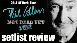 Phil Collins Hangs In Long Enough To Beat All Odds for World Tour