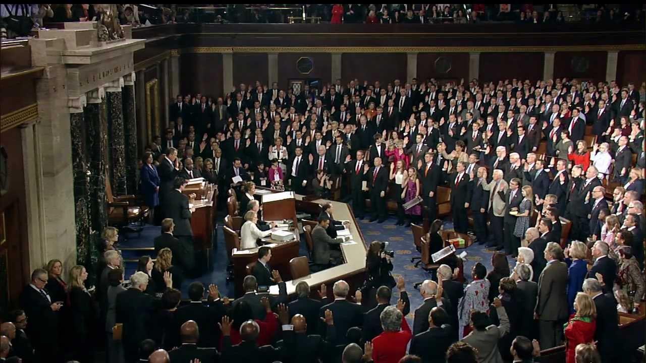 113th Congress Swear In Ceremony