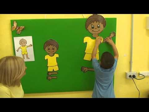 Educación Infantil 3 años  El cuerpo humano